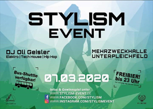 Flyer Stylism Event